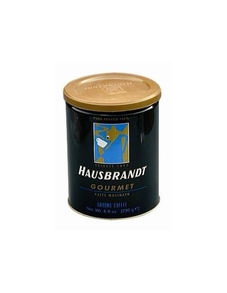 Mletá káva Hausbrandt Gourmet 250 g dóza