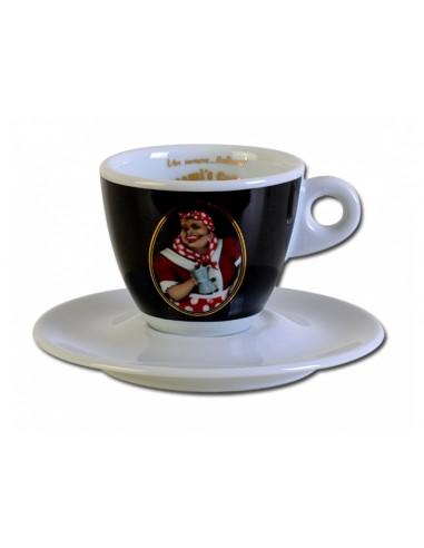 Mami´s Caffé šálek na espresso - černý