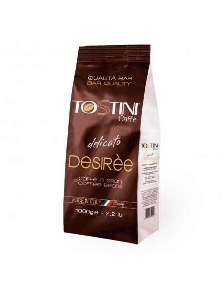 Zrnková káva Tostini Desirée 1 kg