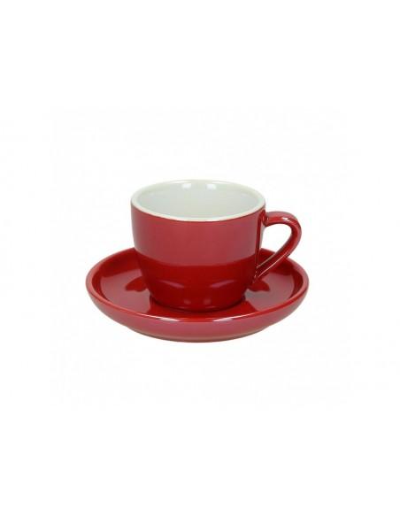 Tognana Colortek 6x šálek na espresso - červený