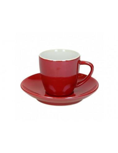 Tognano Colortek 6x šálek na cappuccino - červený