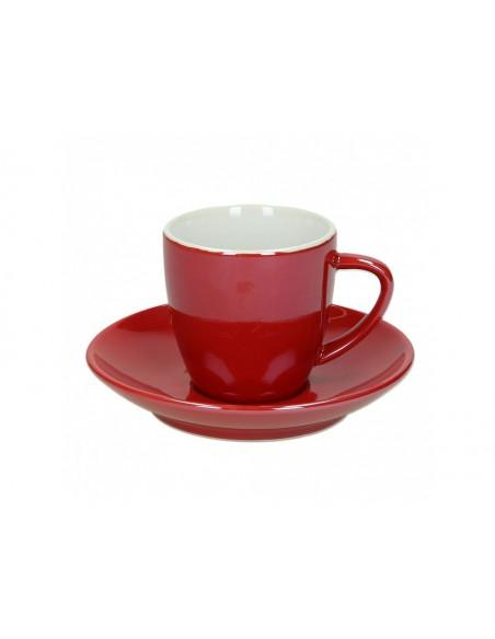 Tognana Colortek 6x šálek na cappuccino - červený