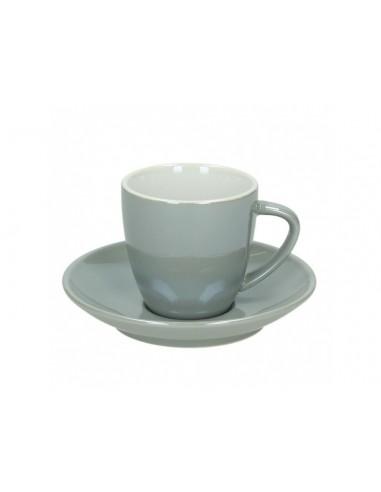 Tognano Colortek 6x šálek na cappuccino - šedý