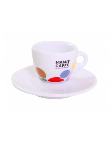 Mami´s Caffé šálek na espresso - barevný