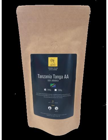 Zrnková káva Sarito Tanzania Tanga AA 200 g