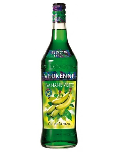 Védrenne sirup Banán zelený 1 l