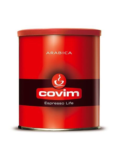 Mletá káva Covim Arabica 250 g dóza