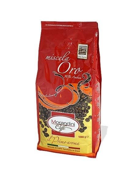 Zrnková káva Morandini caffé Oro 1 kg