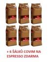 Zrnková káva Covim Orocrema 6 x 1 kg + 6 šálků Covim na cappuccino