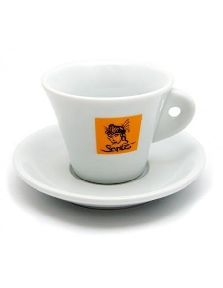 Sarito šálek na cappuccino - žlutý