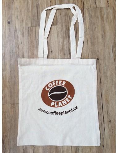 Bavlněná taška Coffee Planet