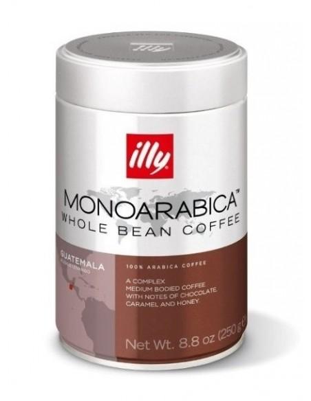 Zrnková káva Illy Monoarabica Guatemala 250 g dóza