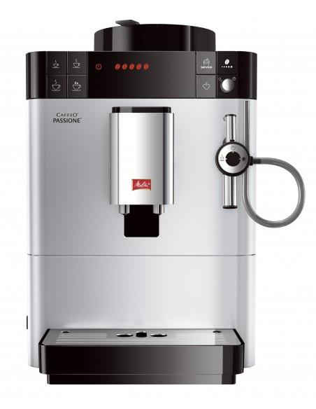 Kávovar Melitta Passione stříbrná