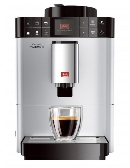 Kávovar Melitta Passione One Touch stříbrná