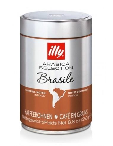 Zrnková káva Illy Monoarabica Brazil 250 g dóza