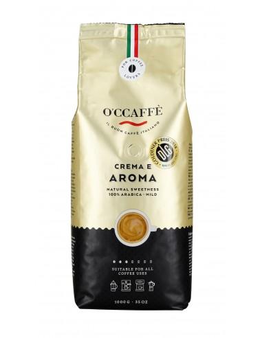 Zrnková káva O'Ccaffé Crema e Aroma 100% Arabika 1 kg