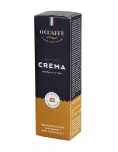 Kapsle Caffitaly O'Ccaffé Crema 10 porcí