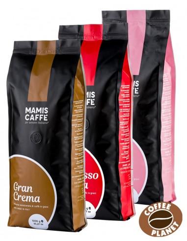 Degustační set Mami's Caffé 3 x 1 kg
