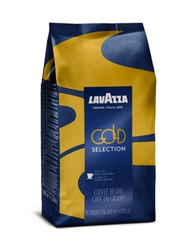 Zrnková káva Lavazza Gold Selection zboku