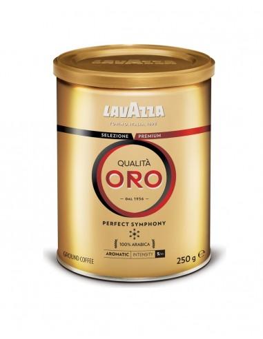 Mletá káva Lavazza Qualita Oro 250g dóza