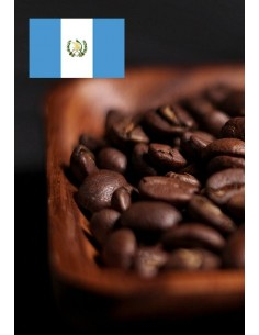 Čerstvě pražená káva z Guatemaly