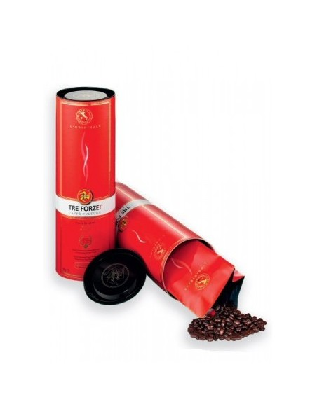 Zrnková káva TRE FORZE! 250 g dóza
