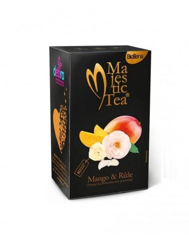 Čaj mango s růží