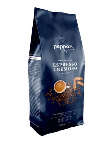 Italská káva Peppos Espresso Cremoso