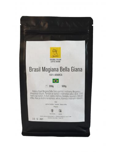Zrnková káva Sarito Brasil Mogiana...
