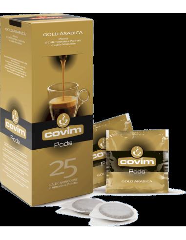 E.S.E. pody káva Covim Gold Arabica 25 porcí