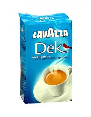 Mletá káva Lavazza bezkofeinová 250 g dóza