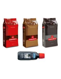 Zrnková káva COVIM SET 3 x 1 kg + dárek + doprava ZDARMA