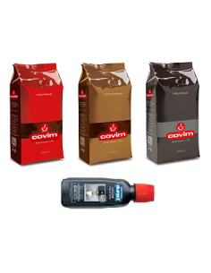 Zrnková káva COVIM SET 3 x 1kg + dárek