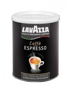 Mletá káva Lavazza Espresso 100% Arabica 250g dóza