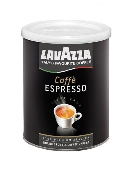 Mletá káva Lavazza Espresso 100% Arabica 250 g dóza