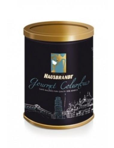 Mletá káva Hausbrandt Gourmet Columbus 250 g dóza