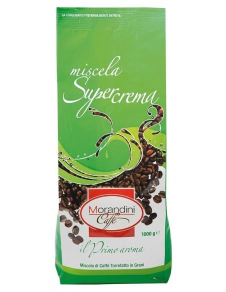 Zrnková káva Morandini caffé Supercrema 1 kg