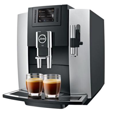 Kávovary Jura Brno - model Jura E8 Platin